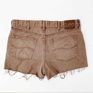 LEE Vintage High Rise Shorts